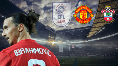 Liga cup final på Wembley