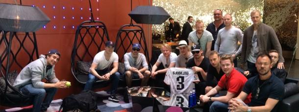 Redhawks firar avancemang till SHL i Barcelona